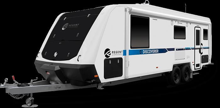 23'6″ Discoverer (RDC236) - Regent Caravans